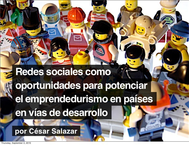 Redes sociales como             oportunidades para potenciar             el emprendedurismo en países             en vías ...
