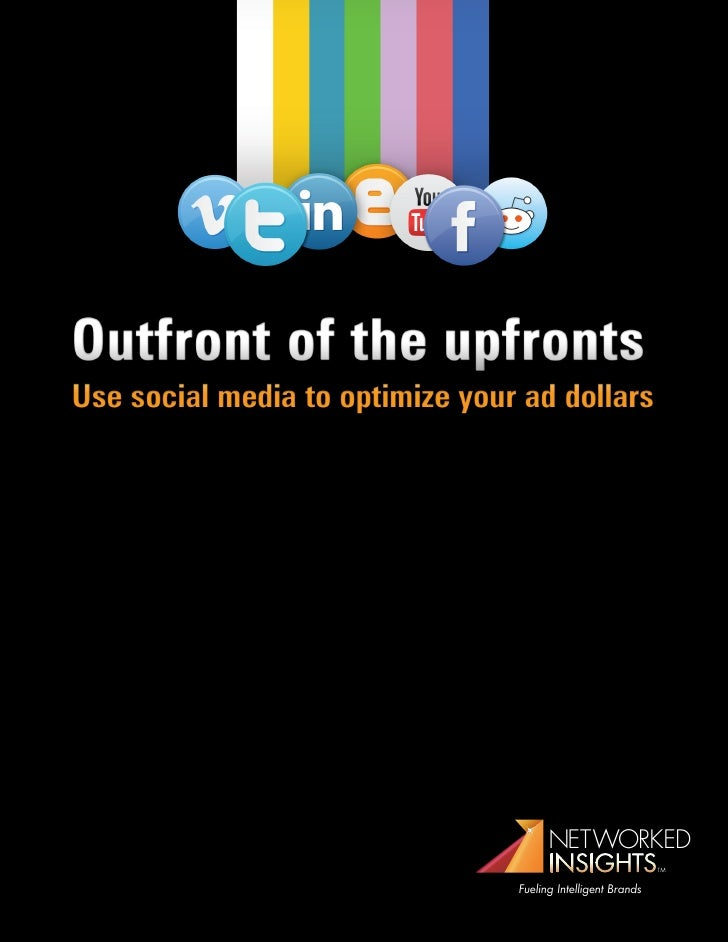 Networked insights Outfront of the Upfronts Report