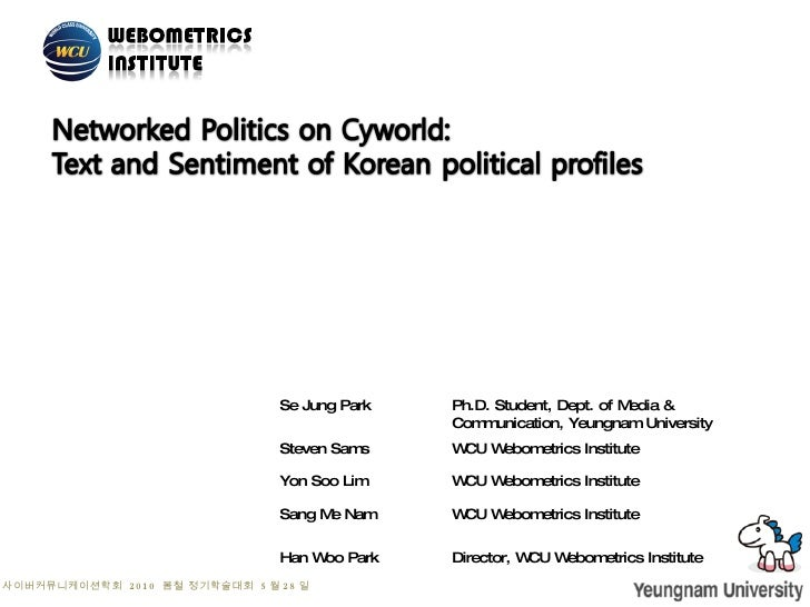 Networked politics(31may2010)