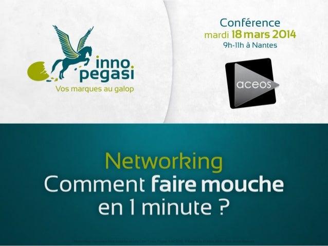 Networking, comment faire mouche en 1 minute ?