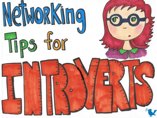 Networking Tips for Introverts (and Shy Folks): Visual Sketchnotes