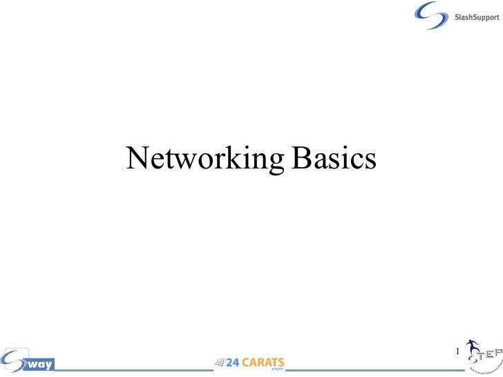 Networking Basics