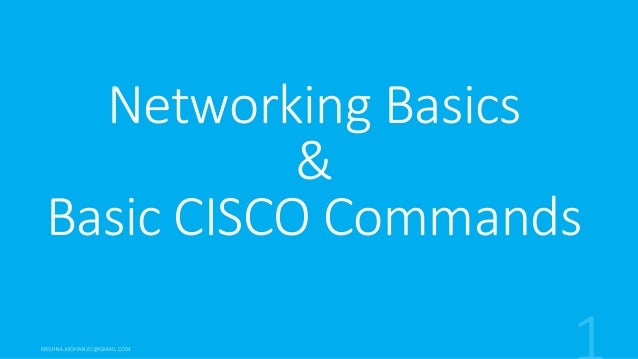 Free CCNA Tutorials. Study CCNA for free