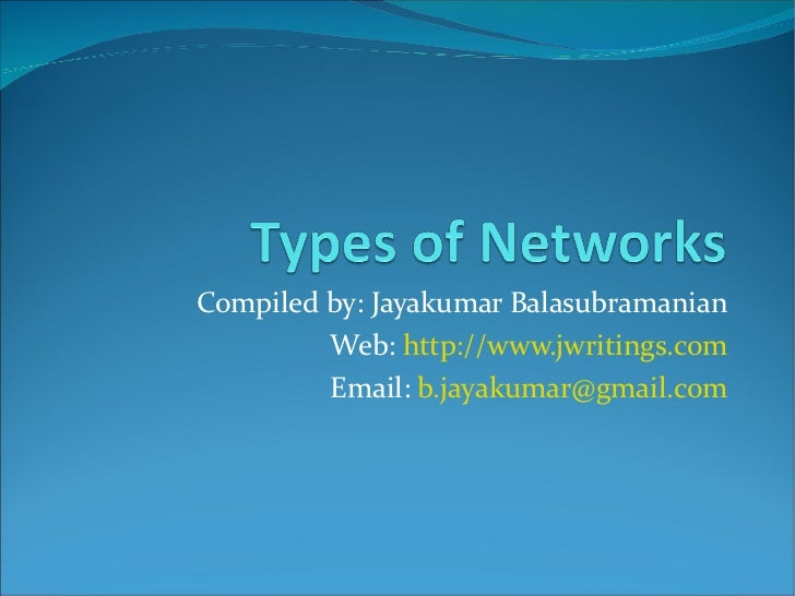 Networking - Part I