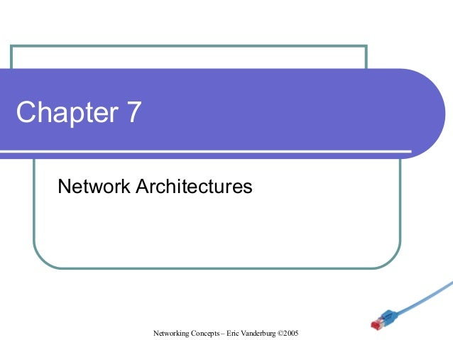 Chapter 7 Network Architectures  Networking Concepts – Eric Vanderburg ©2005