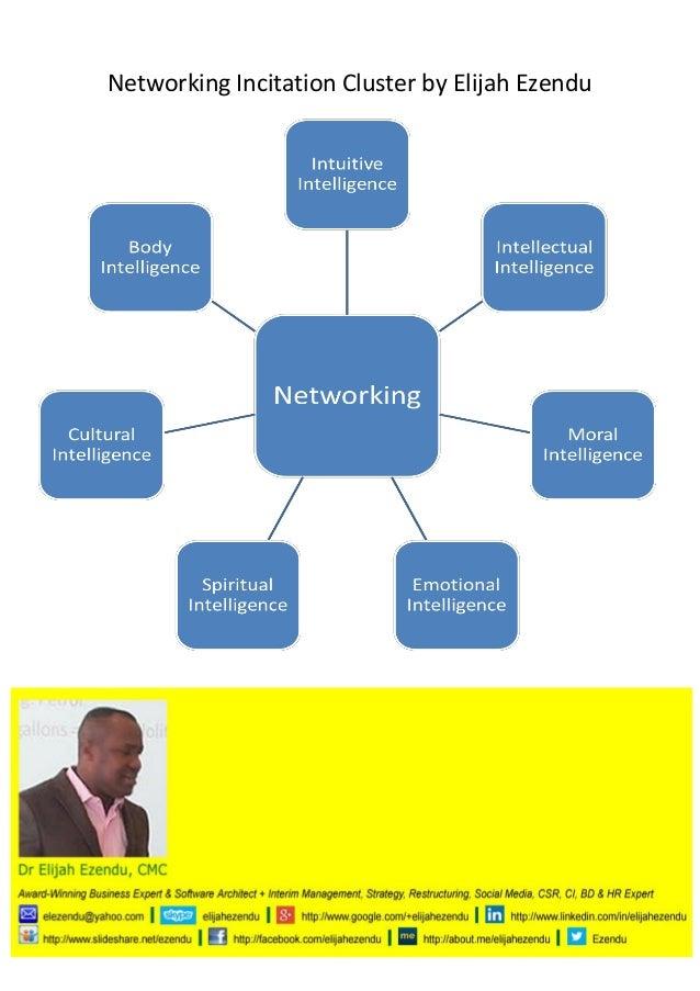 Networking Incitation Cluster by Elijah Ezendu