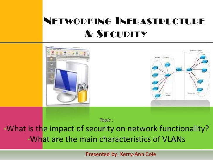 Networking Infrastructure       & Security<br />Topic :<br /><ul><li>What is the impact of security on network ...