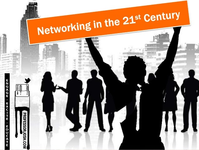 """Networking in the 21st   Century is all about understanding who your networking with and themediums they prefer."" – Josh ..."