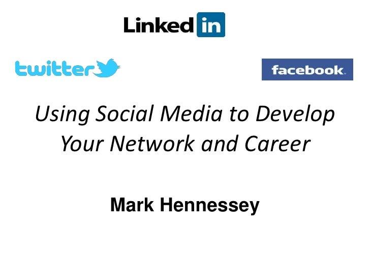 Networking, job seeking & social media