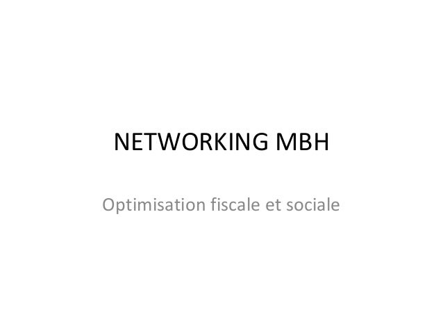 Networking Morbihan Optimisation Fiscale 13/12/2011