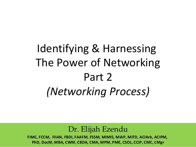 Networking Process