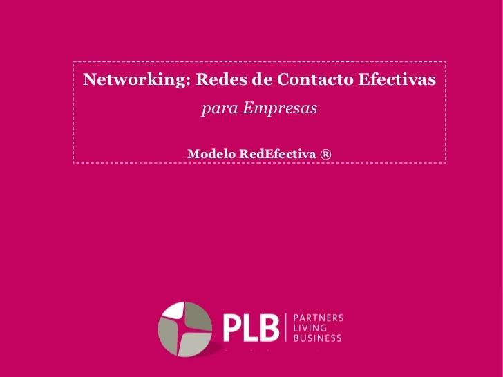 Networking Redes De Contacto Efectivas   Plb Soledad CorbièRe