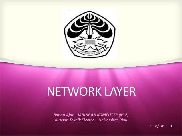 Network layer m6