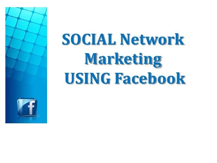 marketing social network advertising