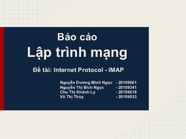 Network programming report