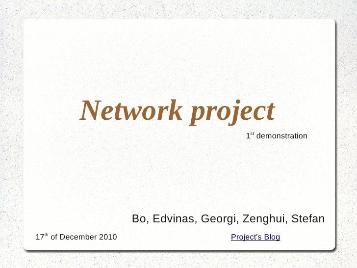 Network proj 1.1