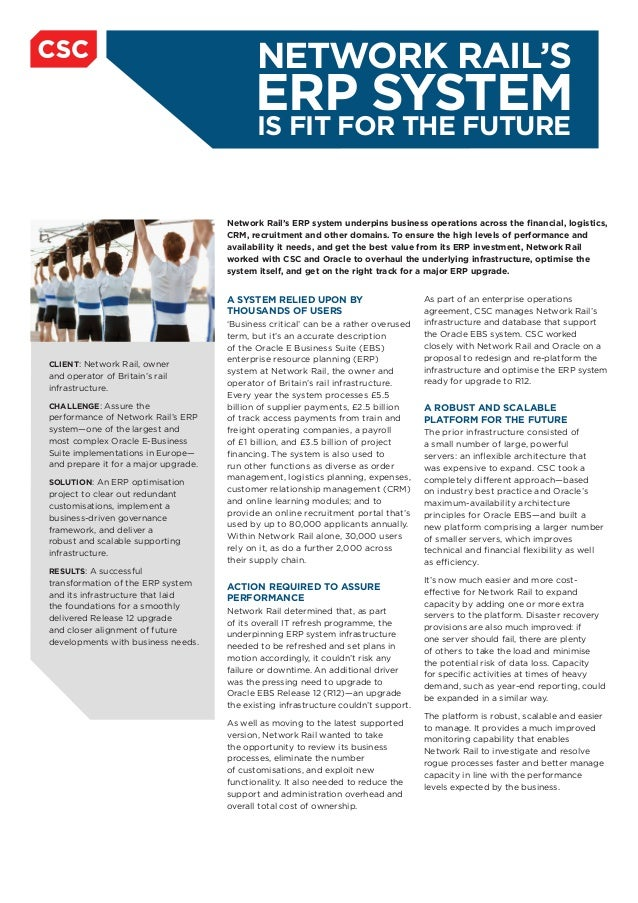 Network Rail Case Study