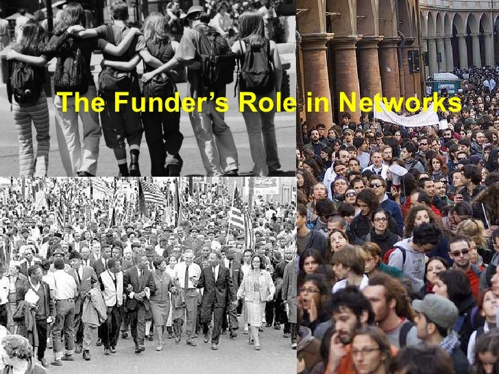 The Funder's Role in Networks<br />