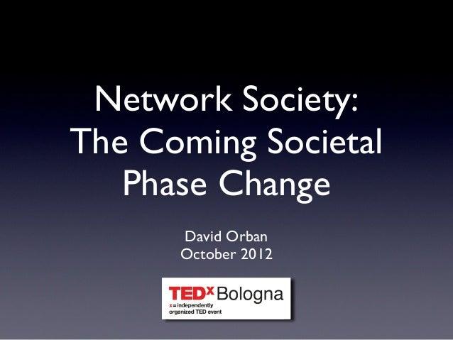 Network Society - TEDx Bologna