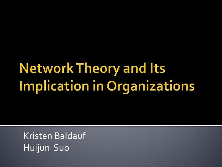 Network Theory Final Draft