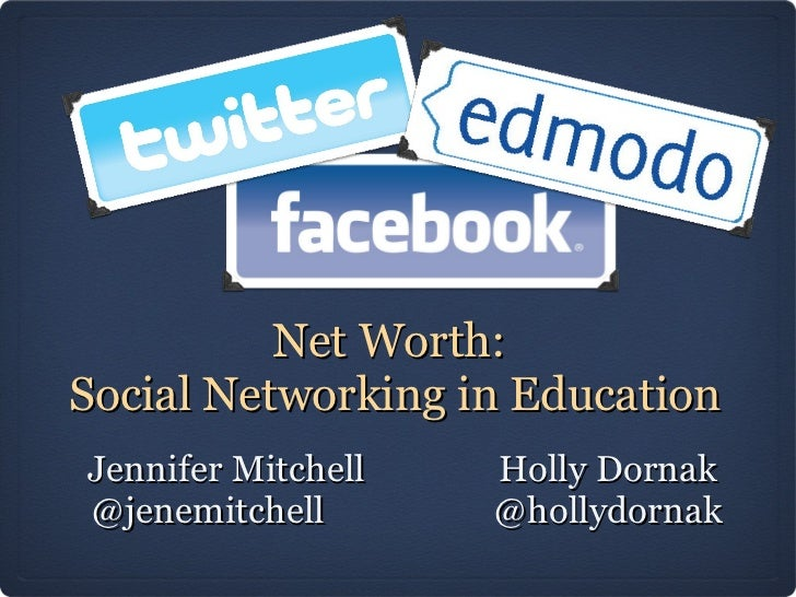 Net worth social-networking_in_education