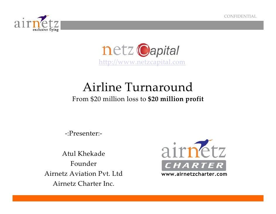 Netz Capital Airline Turn Around into Profitability