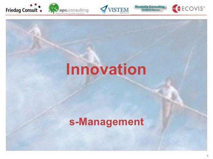 Innovation s-Management