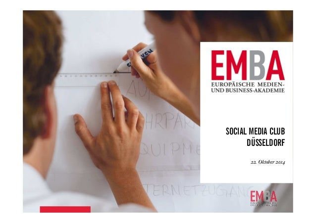 SOCIAL MEDIA CLUB  DÜSSELDORF  22. Oktober 2014