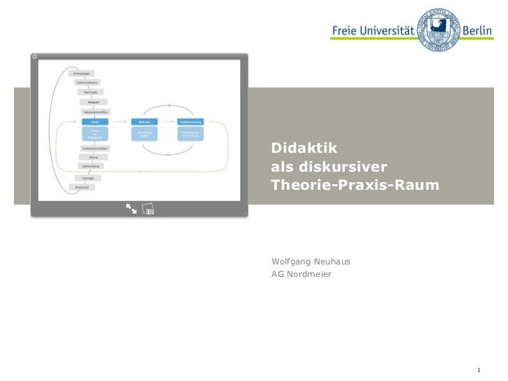 Didaktik als diskursiver Theorie-Praxis-Raum