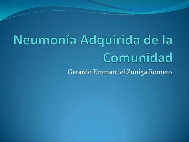 Gerardo Emmanuel Zuñiga Romero