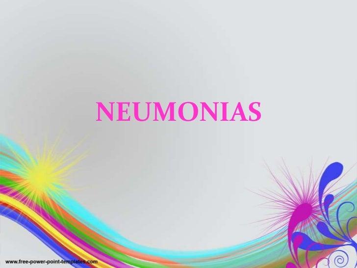 NEUMONIAS<br />