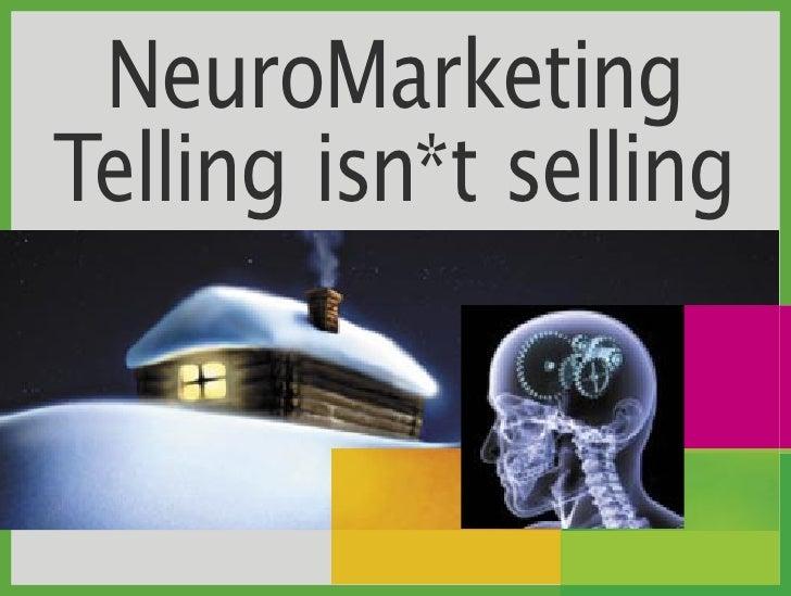Neuro Marketing - The right brain & brand.