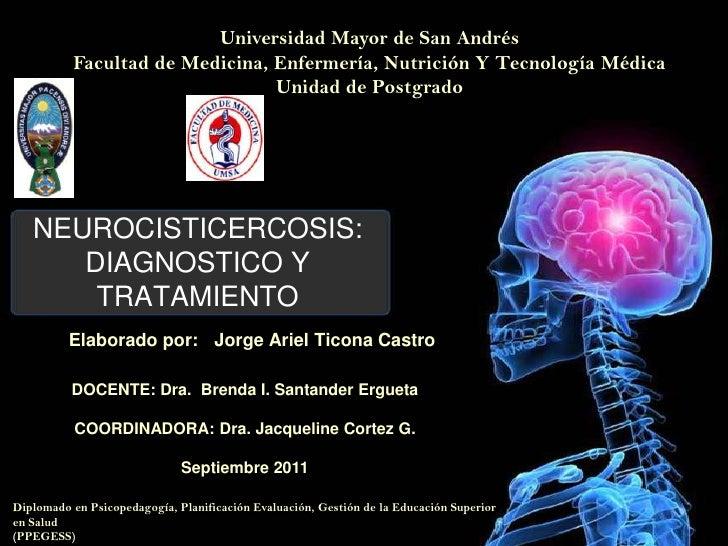 Universidad Mayor de San Andrés<br />Facultad de Medicina, Enfermería, Nutrición Y Tecnología Médica<br />Unidad de Postgr...