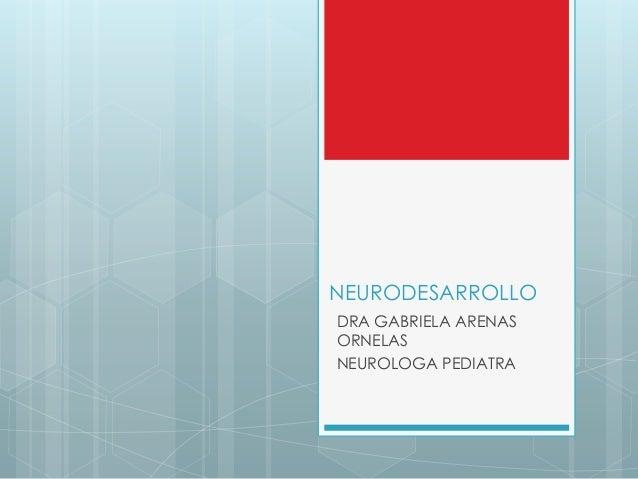 Neurodesarrollo Psiquiatria Infanto Juvenil
