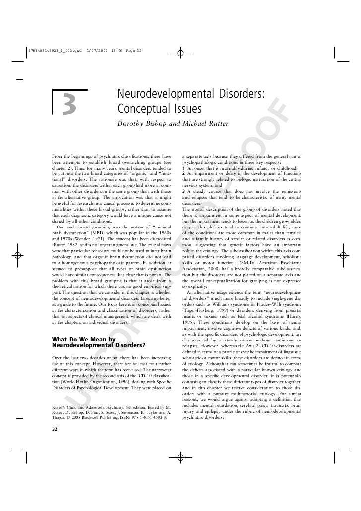 9781405145923_4_003.qxd      3/07/2007 15:06 Page 32                                               Neurodevelopmental Diso...