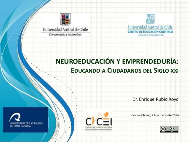 Neuroeducacion y emprendeduria