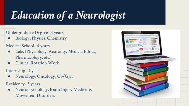 What undergraduate degree is needed for neurology?