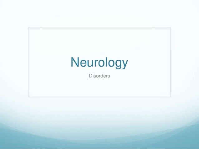 Neurology terms