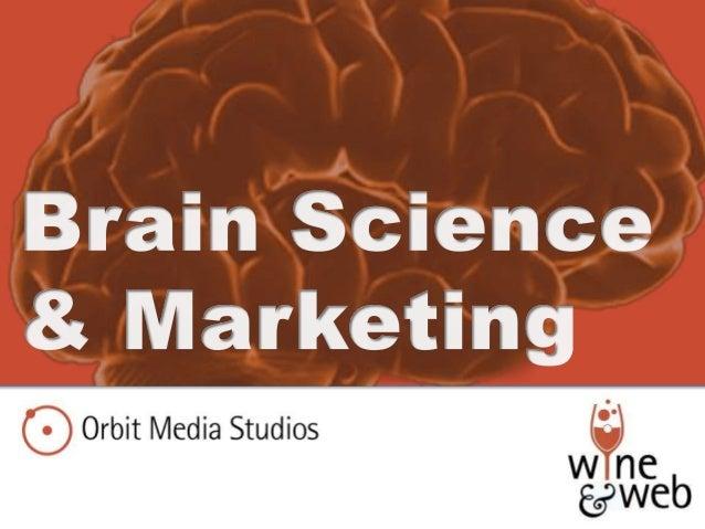 Neuromarketing: Wine and Web