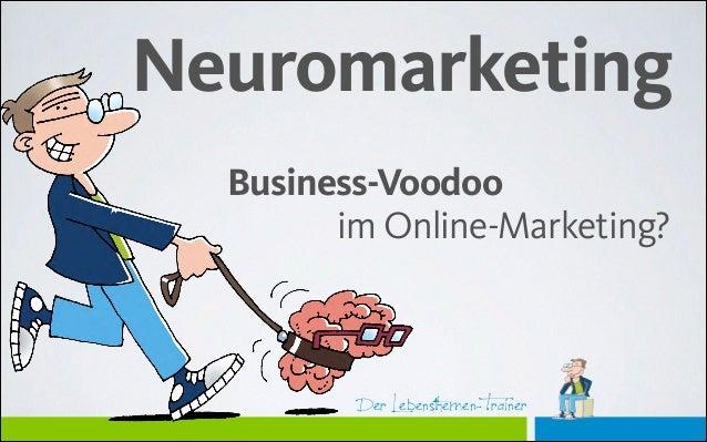#onedigicomp: Neuro-Marketing: Business-Voodoo im Online-Marketing?