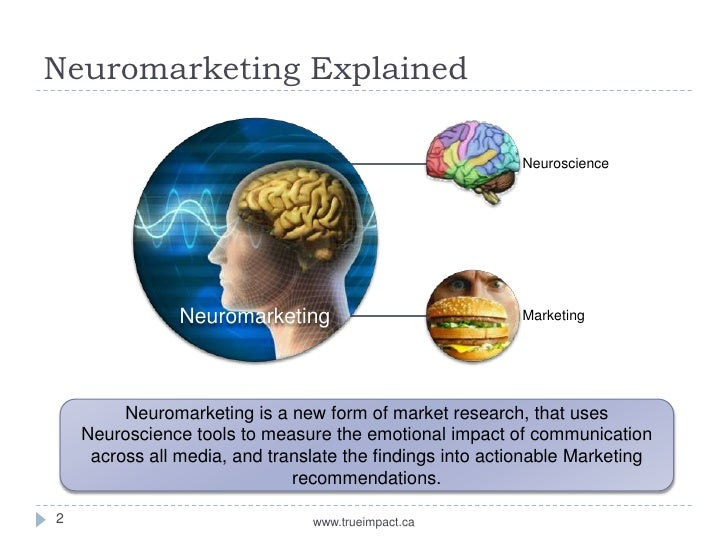 mainline marketing the future of neuromarketing The futures of marketing research robert moran neuromarketing, social media analytics, prediction markets, and cocreative digital consultants) converge with and redefine the traditional forces shaping the future of marketing research.