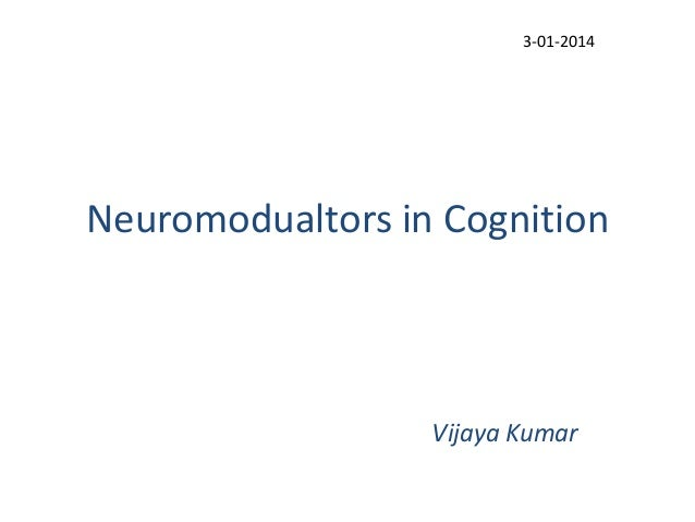 Neuromodulation in cognition