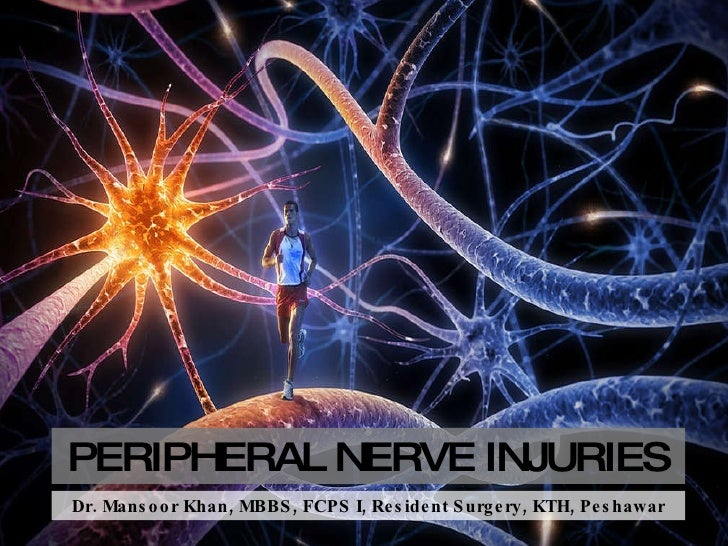 PERIPHERAL NERVE INJURIES Dr. Mansoor Khan, MBBS, FCPS I, Resident Surgery, KTH, Peshawar