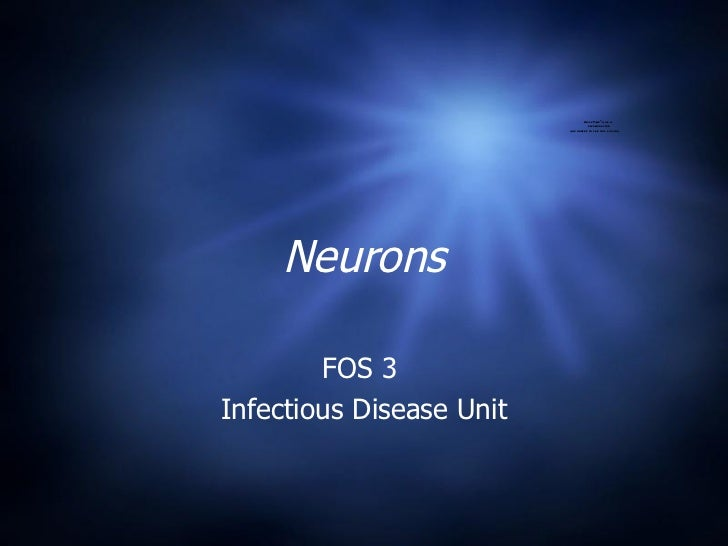 Neurons FOS 3  Infectious Disease Unit