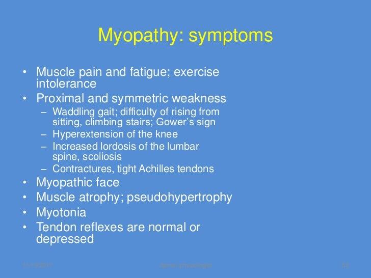 Neuropathies Amp Myopathies An Overview