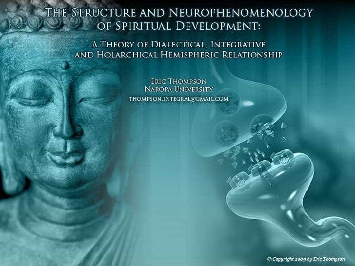 The Neurophenomenology Of Spiritual Development