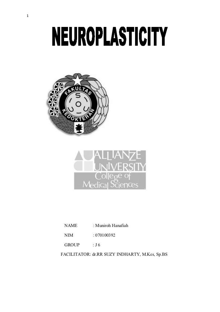 1     NAME        : Muniroh Hanafiah     NIM         : 070100392     GROUP       :J6    FACILITATOR: dr.RR SUZY INDHARTY, ...
