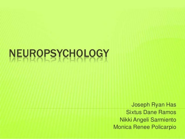 Neuropsychology compiled report