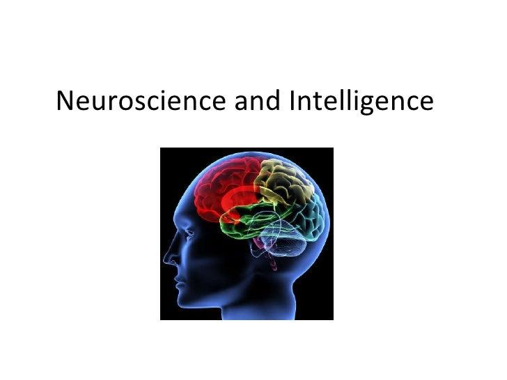 Neuroscience and Intelligence