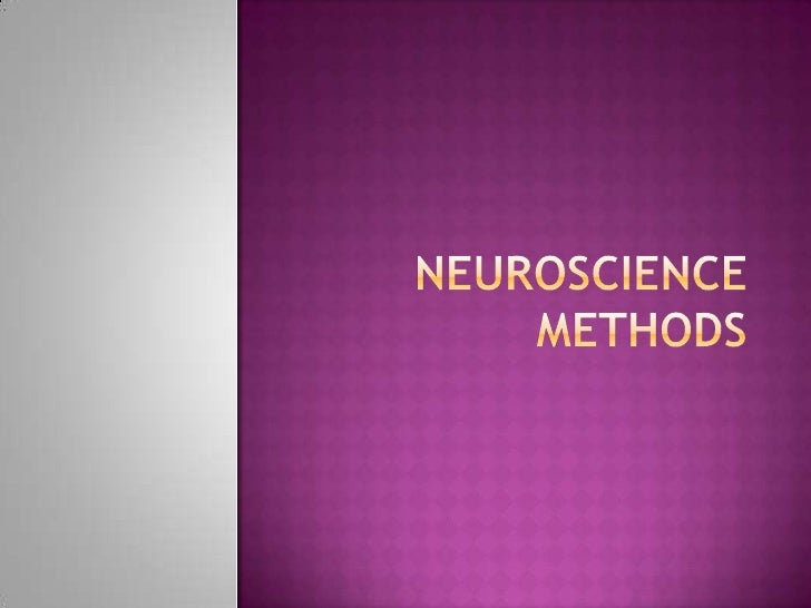  Neuroscientists use a variety of methods to  measure behavior in both people who have  neurological disorders and those ...